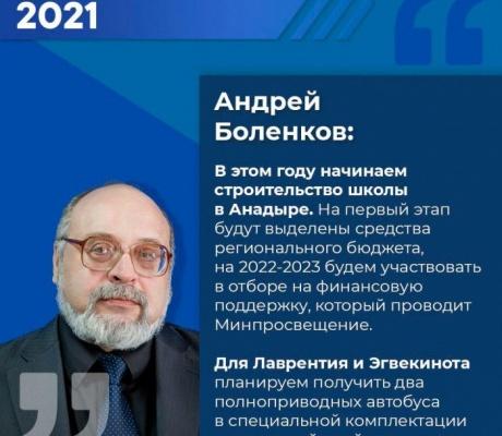 Послание президента 2021